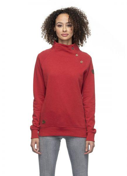 RAGWEAR - IZZIE ORGANIC Sweatshirt Pulover red