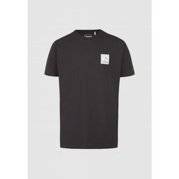 CLEPTOMANICX - RUN GULL Shirt phantom black