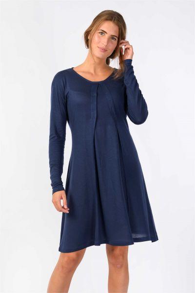 SKUNKFUNK - MATTALIN DRESS Kleid navy blue