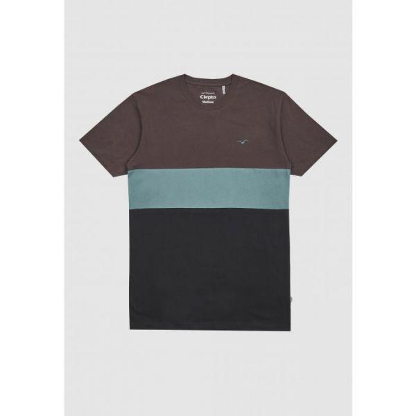 CLEPTOMANICX - DOCK Shirt dark chocolate