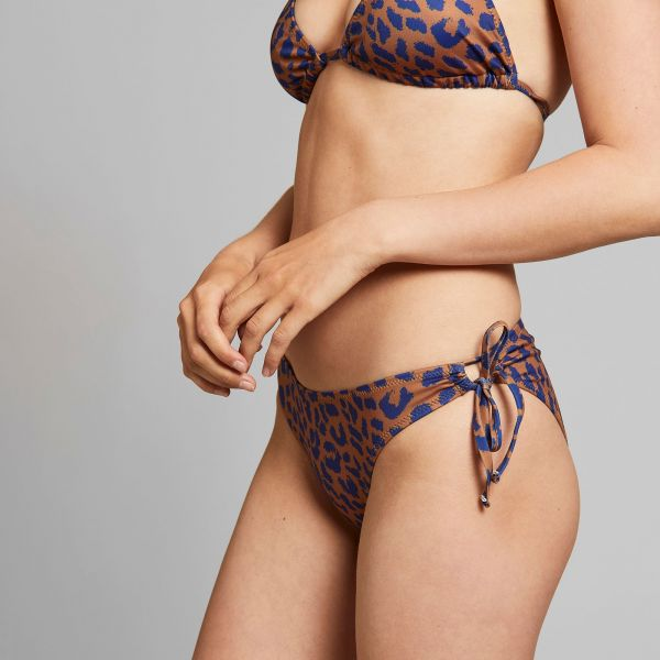 DEDICATED - BOTTOM ODDA LEOPARD Bikini Hose Light Brown