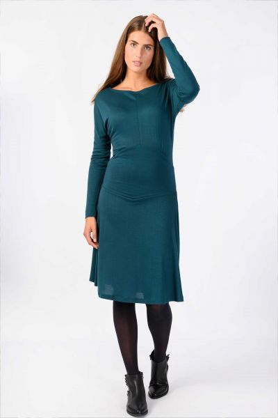 SKUNKFUNK - OKINA DRESS Kleid dark turquoise