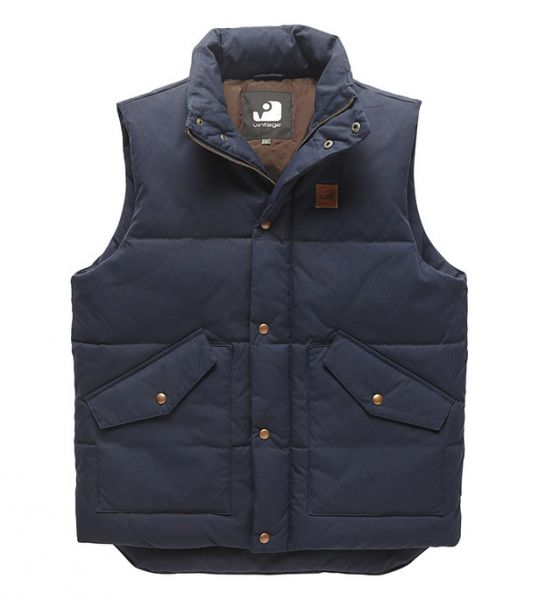 VINTAGE INDUSTRIES NEWBURRY Bodywarmer navy