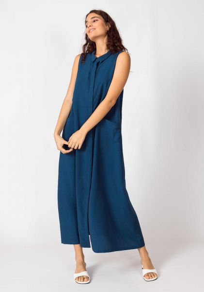 SKFK - METXE DRESS Kleid BZ petrol blue