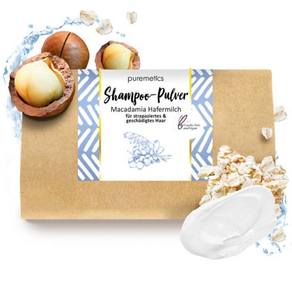 Puremetics - Shampoo 'Macadamia Hafermilch'