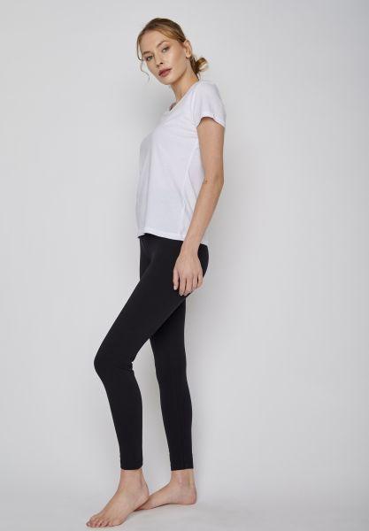 GREENBOMB - LONG BLACK Pants Leggin schwarz