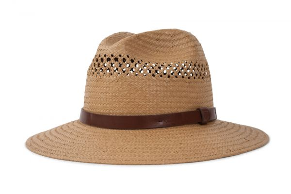 BRIXTON - CASE FEDORA Hut tan