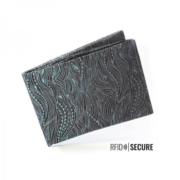 PAPRCUTS - WILD WAVES RFID SECURE Portemonnaie