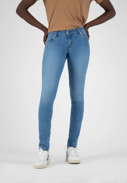 MUD JEANS - SKINNY LILLY Jeans pure blue