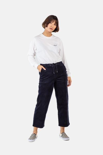 REELL - REFLEX WOMAN LOOSE CHINO Hose navy cord