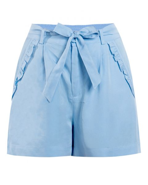 MADEMOISELLE YEYE - GARDEN PARTY Shorts sky blue