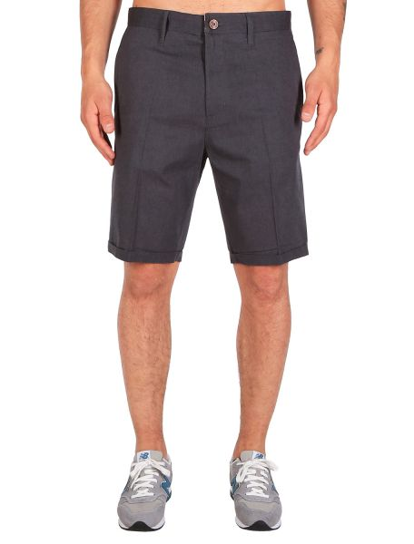 IRIE DAILY - GOLFER CHAMBRAY SHORT Hose anthra melange