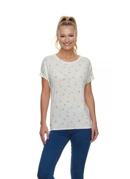 RAGWEAR - PECORI PRINT Shirt off white