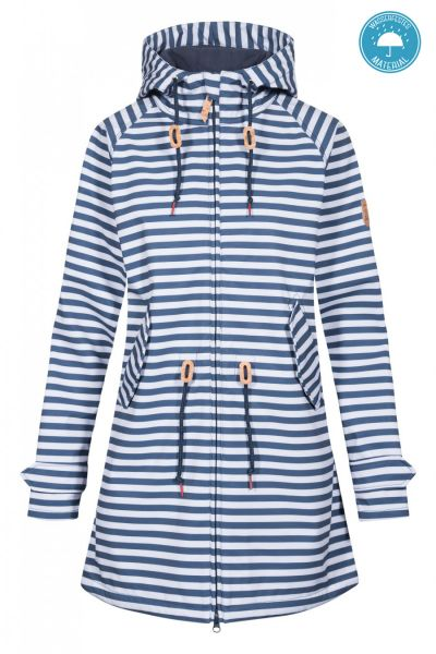 DERBE - ISLAND FRIESE STRIPED Jack navy/white