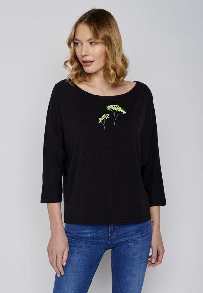 GREENBOMB - PLANT TREES Smile Shirt black