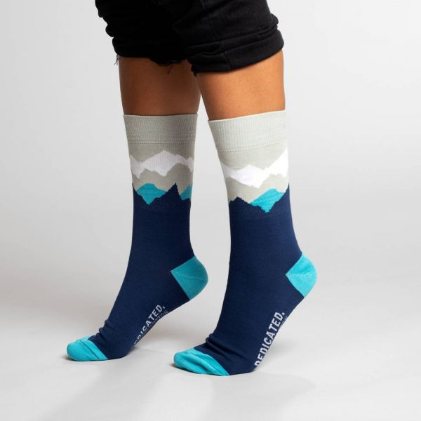 DEDICATED - SIGTUNA SOCKS MOUNTAIN Socken navy