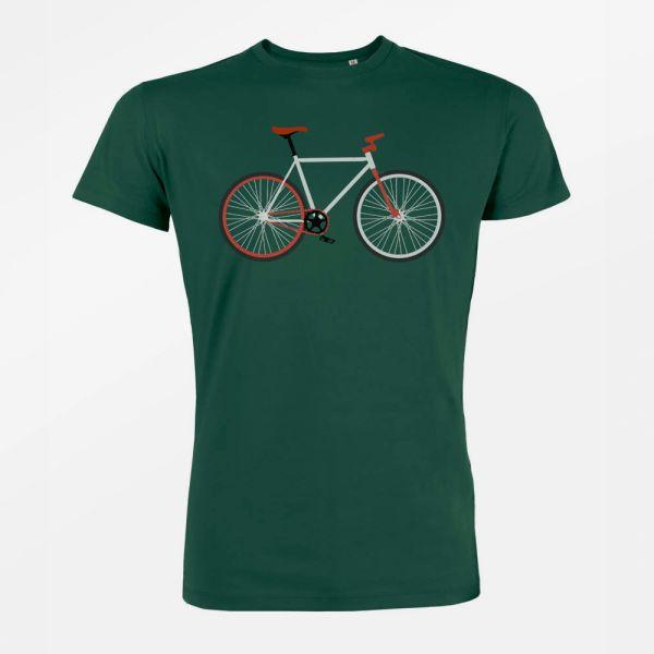 GREENBOMB - BIKE EASY Guide T-Shirt bottle green