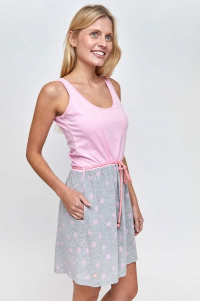 MAZINE - PEOLA Dress pink/ big dots