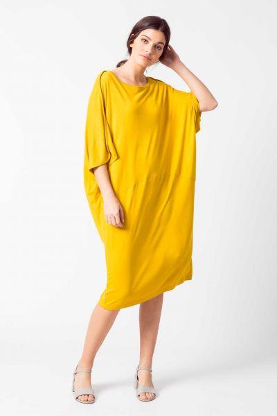 SKFK - GEAXI DRESS Kleid Y6 yellow curry