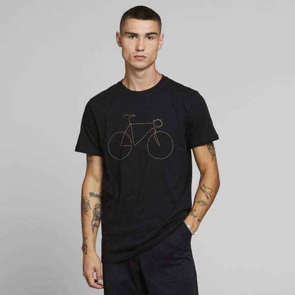DEDICATED - RAINBOW BICYCLE Stockholm Shirt black