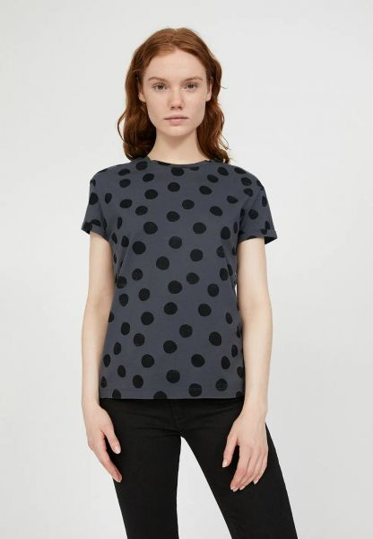 ARMEDANGELS - NAALIN BIG DOTS T-Shirt anthra