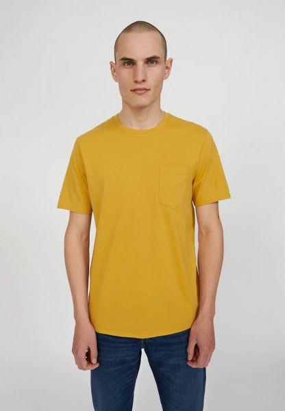 ARMEDANGELS - JAAMES PATCHWORK T-Shirt vanilla ice