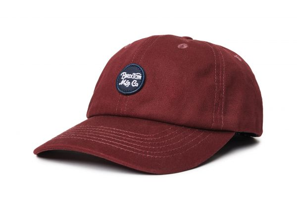 BRIXTON - WHEELER CAP Mütze maroon