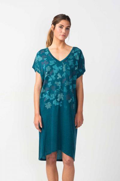 SKFK - URALDE DRESS Kleid blue