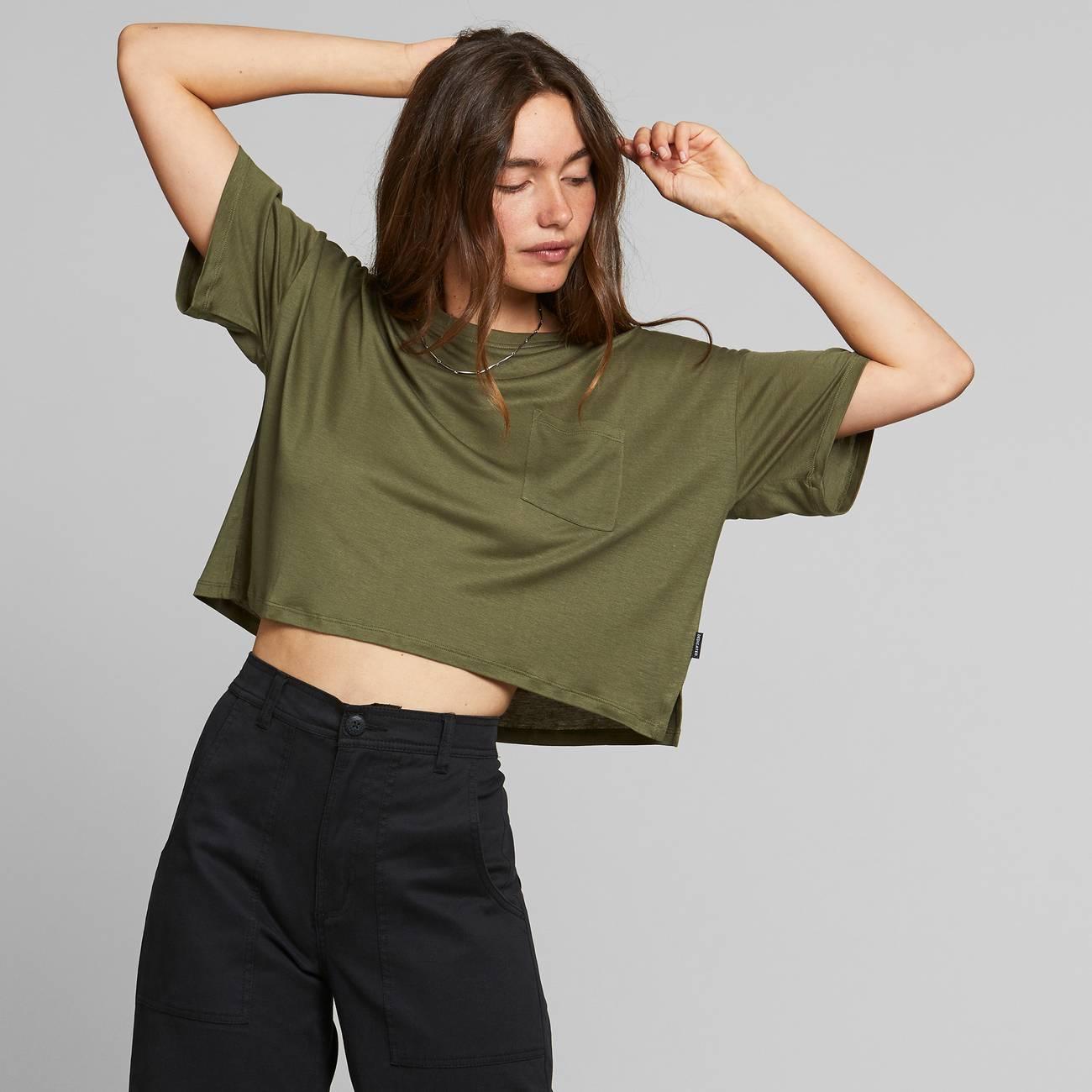 DEDICATED-KIVIK-TOP-T-shirt-leaf-green-3