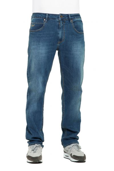 REELL LOWFLY Jeans mid blue denim