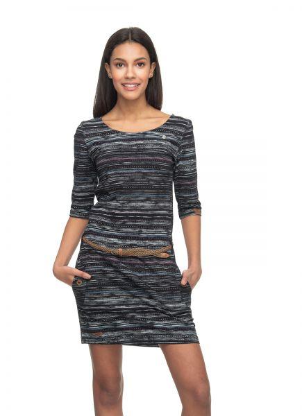 RAGWEAR-TANYA PRINT Kleid black