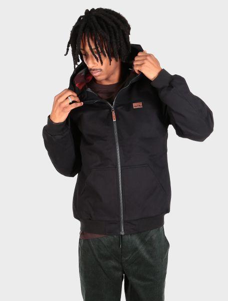 IRIE DAILY - WONDERER JACKET Jacket Jacke black