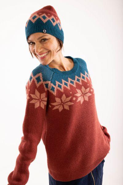 DANEFAE - HYTTE SWEATER Pullover rose tile