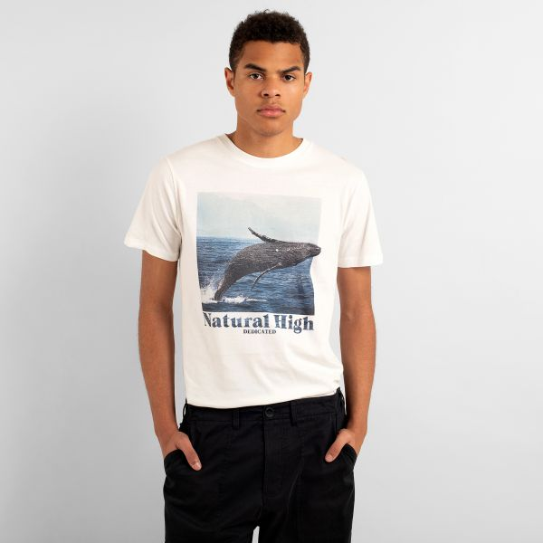 DEDICATED - WHALE HIGH Stockholm Shirt off-white