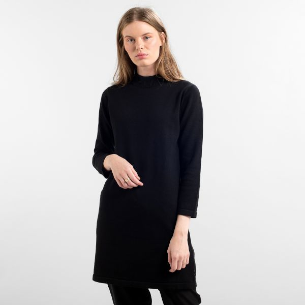 DEDICATED - LO DRESS Kleid black
