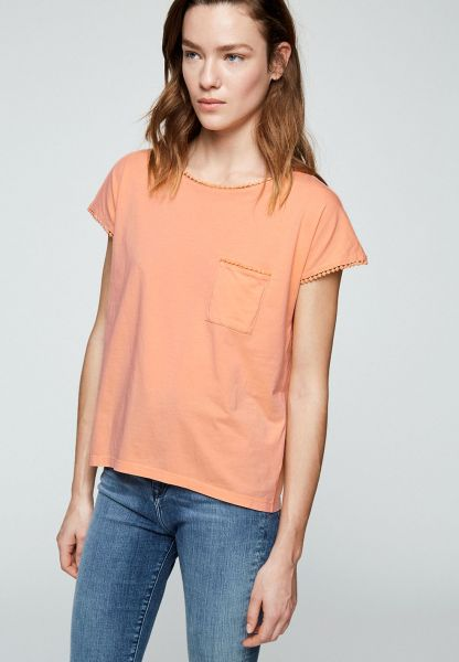 ARMEDANGELS - KLARAA Shirt sweet peach