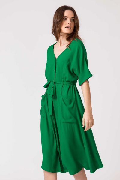 SKFK - NAHIKARI DRESS Kleid G5 grass green