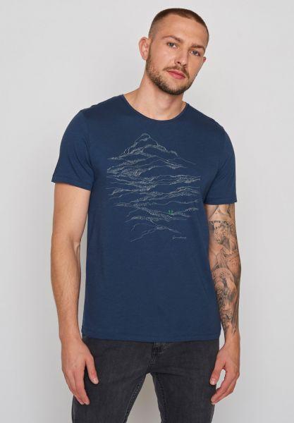 GREENBOMB - NATURE HIKE Spice T-Shirt navy