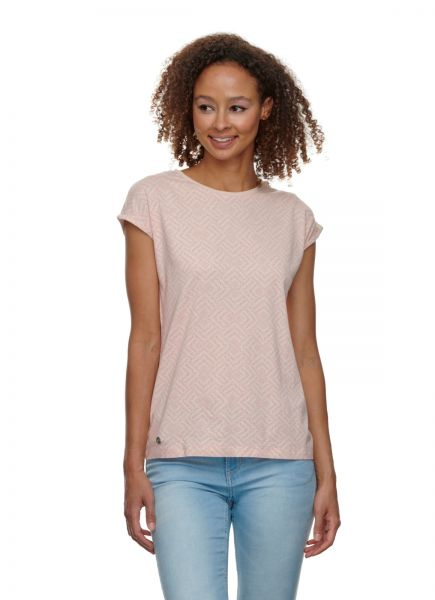 RAGWEAR - DIONE PRINT Shirt light pink