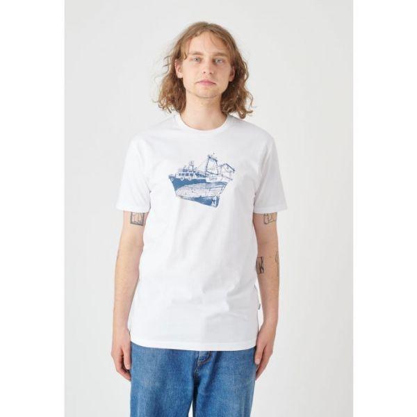 CLEPTOMANICX - TUGGER Shirt white