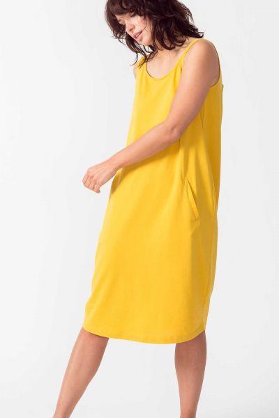 SKFK - AIZANE DRESS Kleid Y6 yellow curry