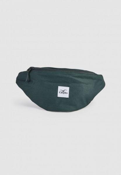 CLEPTOMANICX - C.I. HIPBAG - Tasche scarab green