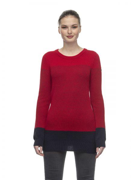 RAGWEAR - BAYLIE Strickpullover red