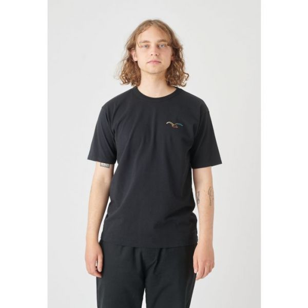 CLEPTOMANICX - MÖWE COLOR T-Shirt black