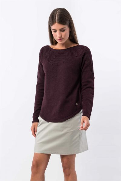 SKUNKFUNK - ARLENE SWEATER Pullover purple