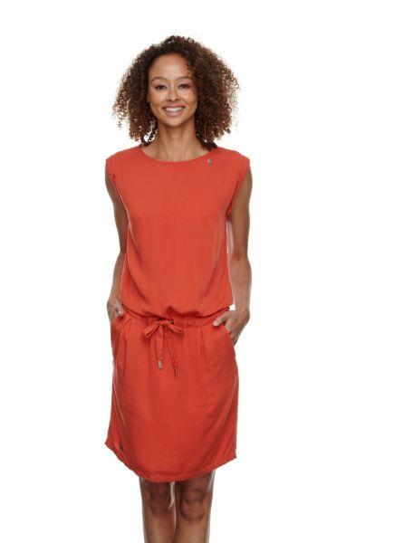 RAGWEAR - MASCARPONE Kleid chili red