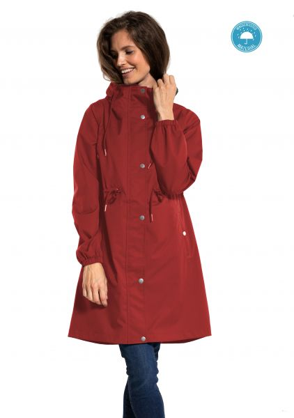 DANEFEA - NORA WINTER PARKA dark red