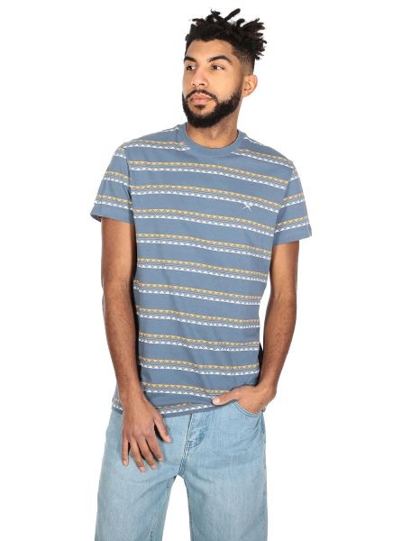 IRIE DAILY - MONTE NOE JAQUE 0 TEE T-Shirt greyblue