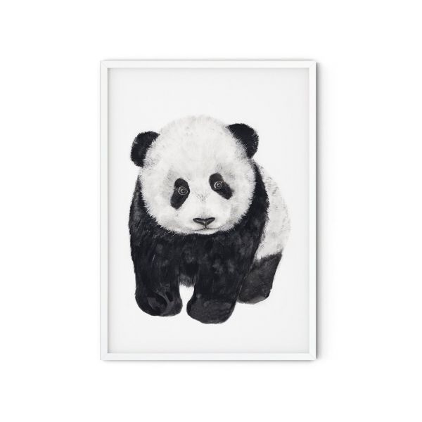 MALUU - PANDA LOVE Kunstdruck A5