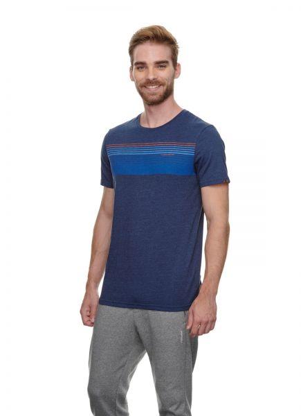 RAGWEAR - HAKE ORGANIC T- Shirt navy